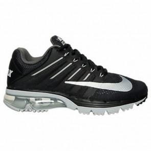 Noir, Blanc, Gris foncé Nike Air Max Excellerate 4 Femmes Chaussures de course 806798 010