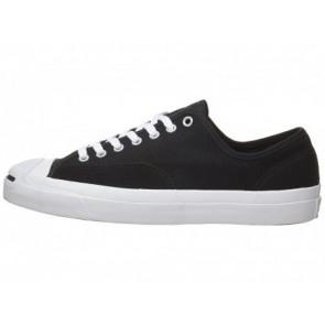 Noir / Noir / Blanc Converse Jack Purcell Pro Hommes Chaussures de course