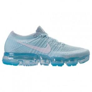 Nike Air VaporMax Flyknit 849557 404 Femme Glacier Bleu / Blanc / Platine pure Chaussures de sport