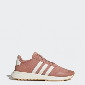 Rose brut / Blanc Femmes Adidas Originals Flashback Chaussures BY9301