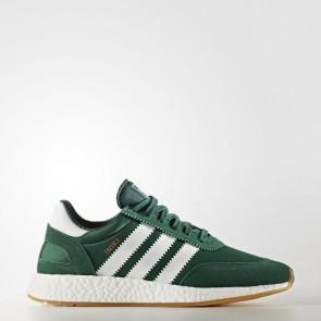 (Collégial Vert / Blanc / Gomme) Hommes Adidas Originals Iniki Runner Chaussures BY9726