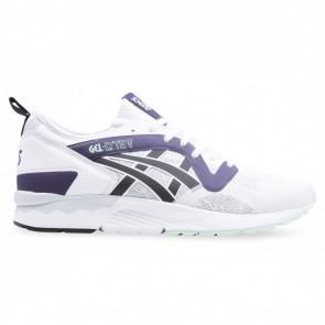Asics Tiger GEL LYTE V NS Hommes Chaussures de course Blanc / Noir / Pourpre H7X1Y0190