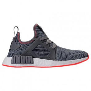 Homme Adidas NMD Runner XR1 Gris / Rouge solaire Chaussures de course BY9925