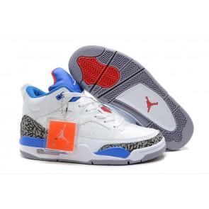 Homme Air Jordan 3 Pale Ocre, Blanc pur, lac bleu Chaussures de course