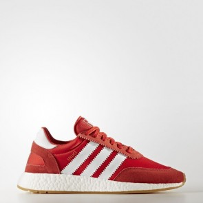 Homme Adidas Originals Iniki Runner Chaussures de course Rouge et Running Blanc BY9728